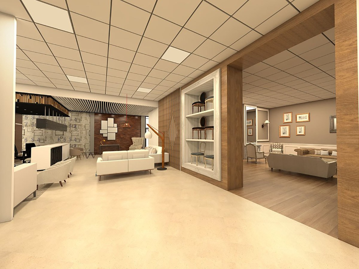 Show room meubles atelier osmose - Showroom sanitaire paris ...
